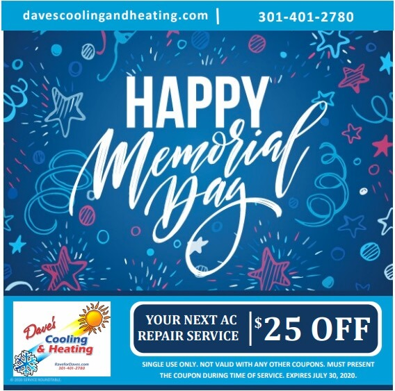Memorial day specials & coupons